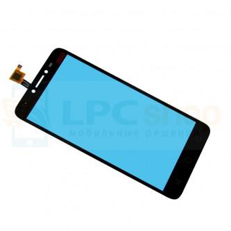Тачскрин (сенсор) для Alcatel OT-5023F (Pixi 4 Plus Power) Черный