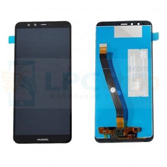 Дисплей для Huawei Y9 2018 в сборе с тачскрином Черный