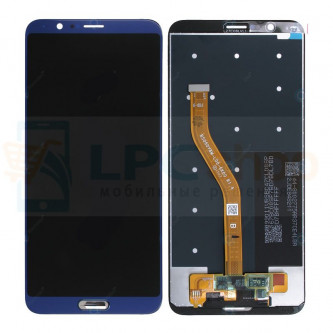 Дисплей для Huawei Honor View 10 в сборе с тачскрином Синий