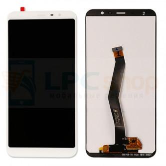 Дисплей для Meizu M6T в сборе с тачскрином Белый