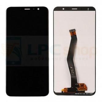 Дисплей для Meizu M6T в сборе с тачскрином Черный