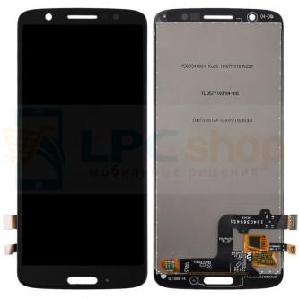 Дисплей для Motorola Moto G6 в сборе с тачскрином Черный