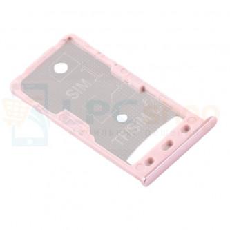 Лоток сим карты и карты памяти Xiaomi Redmi 5A Розовое золото (Pink)