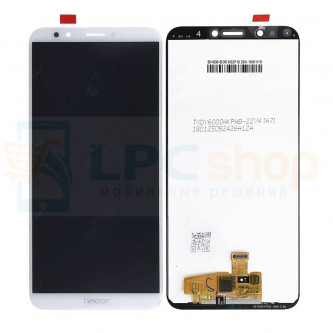 Дисплей для Huawei Honor 7C Pro LND-L29 / Y7 Prime 2018  в сборе с тачскрином Белый