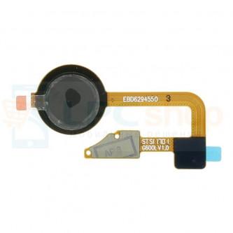 Шлейф LG G6 H870DS отпечатка пальцев Черный