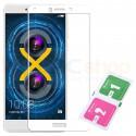 Защитное стекло (Полное покрытие) Huawei Honor 6X Белое