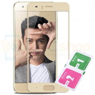 Защитное стекло (Полное покрытие) Huawei Honor 9 Золото