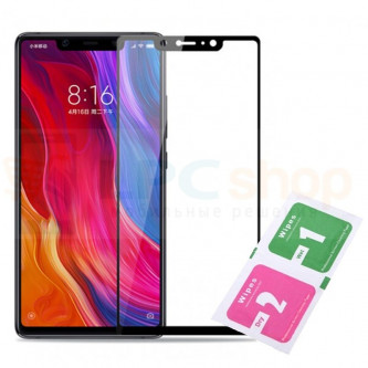 2,5D Защитное стекло (Полное покрытие) для Xiaomi Mi 8 SE Черное