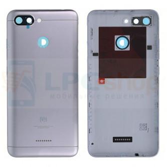 Крышка(задняя) Xiaomi Redmi 6 Серый