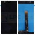 Дисплей для Nokia 3 модуль Черный - Оригинал