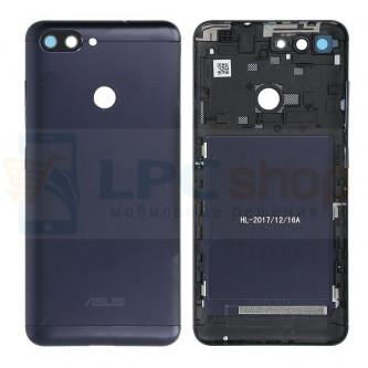 Крышка(задняя) Asus ZB570TL (ZenFone Max Plus) Темно-синяя