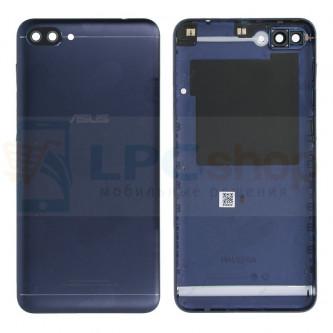 Крышка(задняя) Asus ZC520KL (ZenFone 4 Max) Темно-синяя