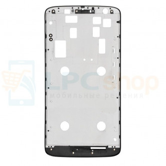 Рамка дисплея для Motorola X Play Черная Xt1560 / Xt1561