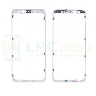 Рамка дисплея для Xiaomi Mi 6X / Mi A2 Белая