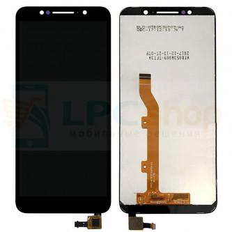 Дисплей Alcatel 1C OT-5009D в сборе с тачскрином Черный
