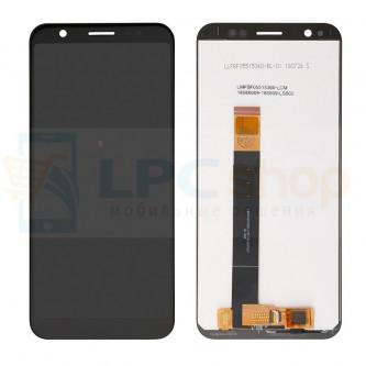 Дисплей Asus ZB555KL (ZenFone Max M1) в сборе с тачскрином Черный