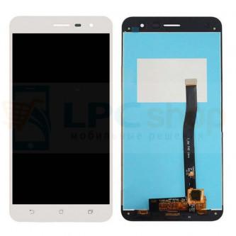 Дисплей Asus ZE552KL (ZenFone 3) в сборе с тачскрином Белый
