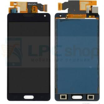 Дисплей Samsung A500F (A5) в сборе с тачскрином Черный - (TFT матрица)