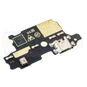 Шлейф ZTE Blade V8 Lite плата на системный разъем/микрофон