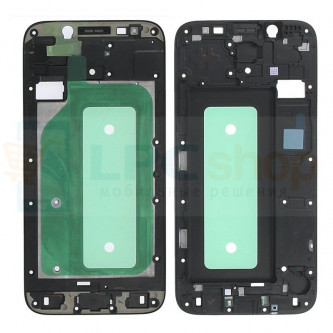 Рамка дисплея для Samsung J7 (2017) J730F Черная