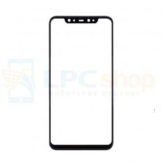 Стекло (для замены / переклейки) Xiaomi Mi 8 Черное