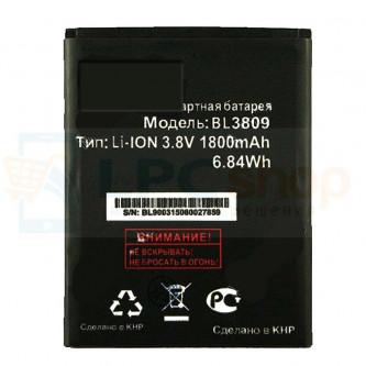 Аккумулятор для Fly BL3809 ( IQ458 / Evo Tech 2 / IQ459 / Quad Evo Chic 2 ) 1800mAh