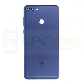 Крышка(задняя) Huawei Y9 2018 Синий