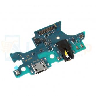 Шлейф разъема зарядки Samsung A750F плата системный разъем/разъем гарнитуры/микрофон