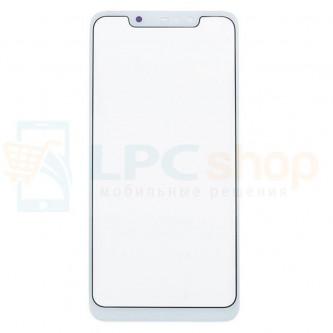 Стекло (для переклейки) Xiaomi Redmi Note 6 Pro Белое