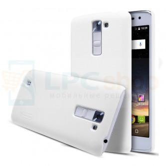 """Кейс NILLKIN """"Frosted"""" для LG K7 X210DS - Белый"""