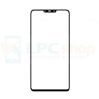 Стекло (для переклейки) Huawei Nova 3 Черное