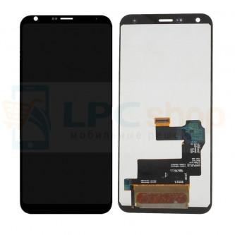Дисплей для LG Q610NM (Q7) в сборе с тачскрином Черный