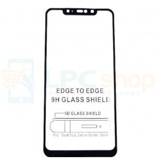 5D Бронестекло (защитное стекло) для Xiaomi Redmi Note 6 Pro Черное