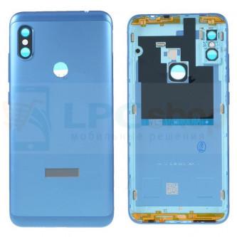 Крышка(задняя) Xiaomi Redmi Note 6 Pro Синий