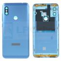 Крышка(задняя) Xiaomi Redmi Note 6 Pro Синий - Высокое качество