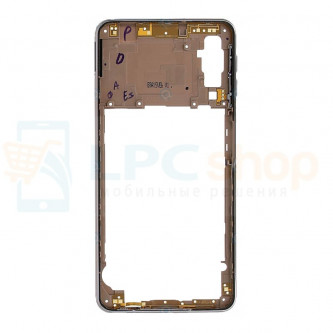 Средняя часть Samsung Galaxy A7 (2018) A750F Золотая + кнопки громкости