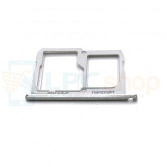 Лоток сим карты и карты памяти LG X Cam Titan K580DS Серебро