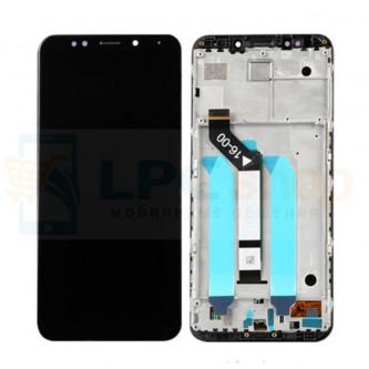 Дисплей Xiaomi Redmi 5 Plus с тачскрином в рамке Черный