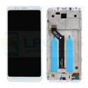 Дисплей Xiaomi Redmi 5 Plus с тачскрином в рамке Белый