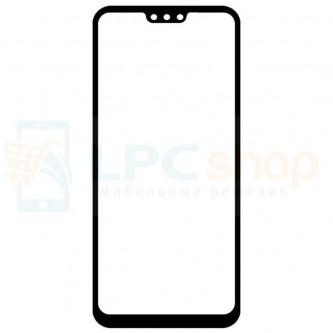 Стекло (для переклейки) Huawei Honor 8X Черное