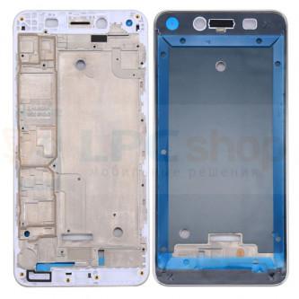 Рамка дисплея для Huawei Y5 II CUN-U29 Белая