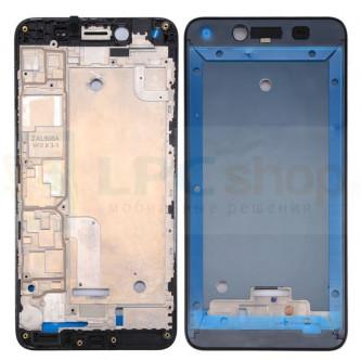 Рамка дисплея для Huawei Y5 II CUN-U29 Черная