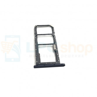 Лоток сим карты и карты памяти Asus Zenfone Max Pro M1 ZB602KL / ZB601KL черный