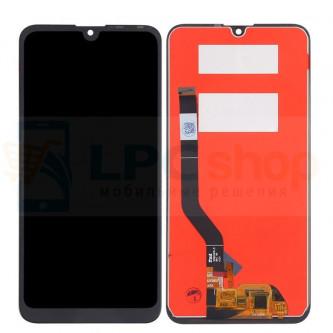 Дисплей Huawei Y7 2019 в сборе с тачскрином Черный