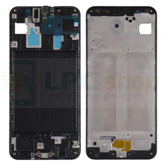 Рамка дисплея Samsung A30 A305F Черная