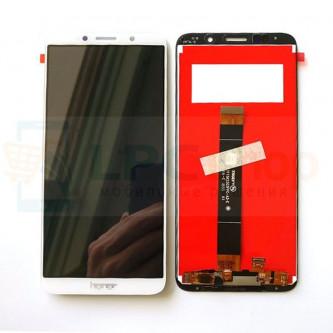Дисплей Huawei Y5 2018 / Y5 Prime 2018 / Honor 7A в сборе с тачскрином Белый - Оригинал LCD