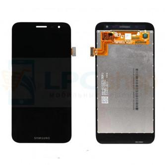 Дисплей Samsung J260F (J2 Core 2018) в сборе с тачскрином Черный - Оригинал