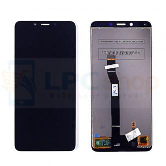 Дисплей Xiaomi Redmi 6A в сборе с тачскрином Черный - Оригинал
