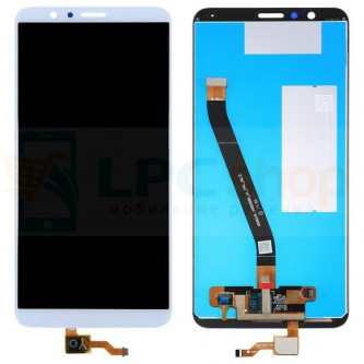Дисплей Huawei Honor 7X в сборе с тачскрином Белый