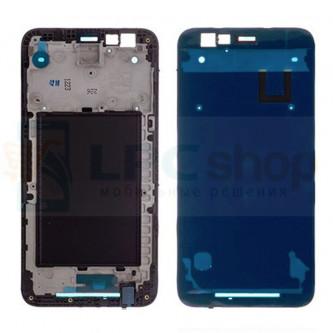 Рамка дисплея для LG K10 2017 M250 Черная